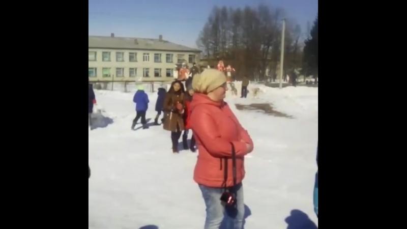 Барнаул проводы зимы - 2 раз показные 18 03 2018