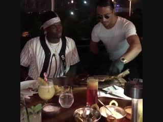 Paul Pogba & Salt Bae