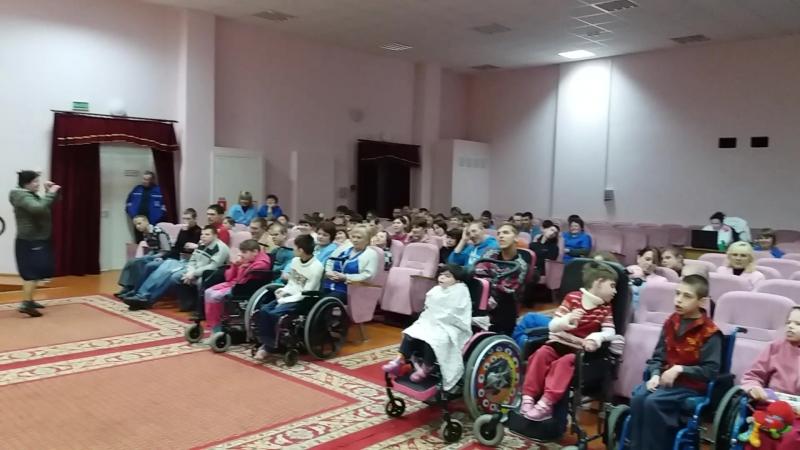 26 апреля 2018 Червенский дом-интернат для детей-инвалидов и молодых инвалидов - Максим