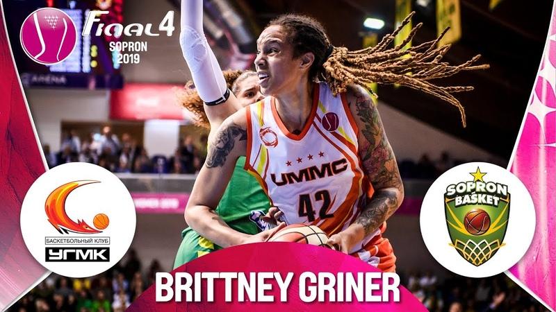 Brittney Griner 19 points Highlights vs Uniqa Sopron