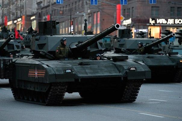 """Государственные испытания танка """"Армата"""" начнутся в 2016 году"""