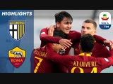 Parma vs. Roma _ Cristante Ünder on Target In Roma Win Over Parma _ Serie A