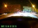 Урал немного не рассчитал расстояние к поезду Авария! ДТП на видеорегистратор
