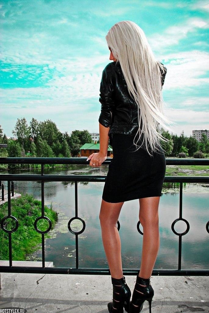 Фото на аву девушек с русыми волосами