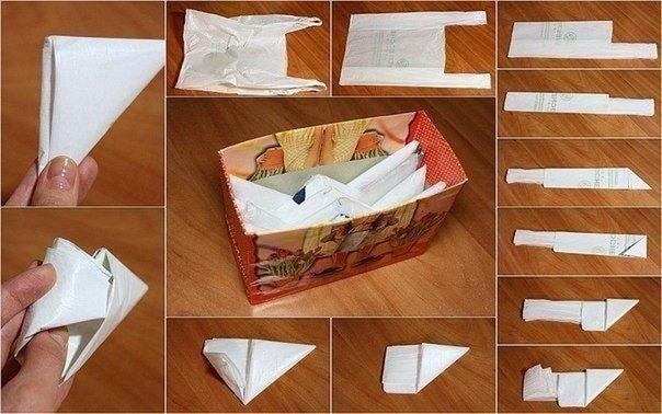 Как правильно хранить пакеты