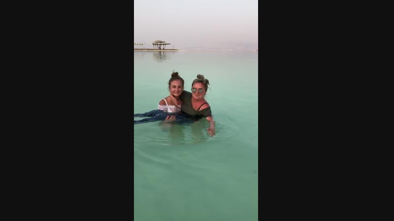 Израиль. Сентябрь 2018. Мертвое море - космос Совершенно незнакомые, до этого момента, чувства и ощущения!