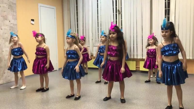 хореография ,открытый урок , 14.03.18