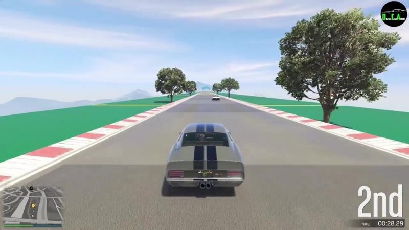 [Digital Car Addict] GTA 5 - Top Speed Drag Race (Vapid Ellie vs. Dominator, Sabre Turbo, Yosemite, Dukes, Hustler)