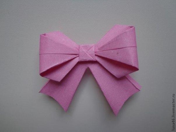 🎀Идея для самодельного бантика из бумаги на подарок ✌Забирай себе на стену!