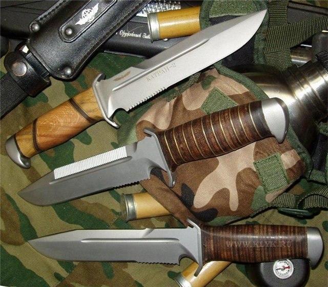 Как сделать боевой нож дома