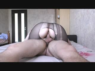 Teen big ass pussyjob in nylon pantyhose cum on face - big ass butts booty tits boobs bbw pawg curvy mature milf