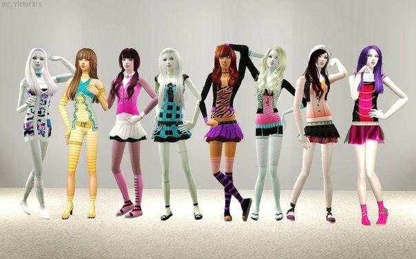 Игры на андроид для девочек монстр хай андроид