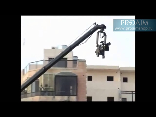 Proaim 22ft Octagonal Jib Arm Camera Crane 150mm Bowl Stand (LW-150)