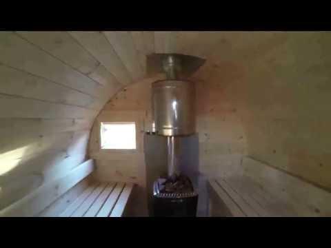 Баня -бочка в Сыктывкаре
