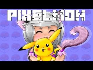 Minecraft Pixelmon II #25  Эволюция  Pikachu