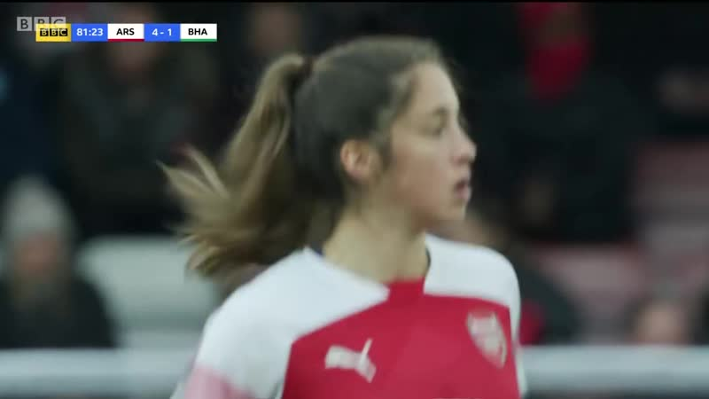 Womens Super League 2018 19 Arsenal v Brighton