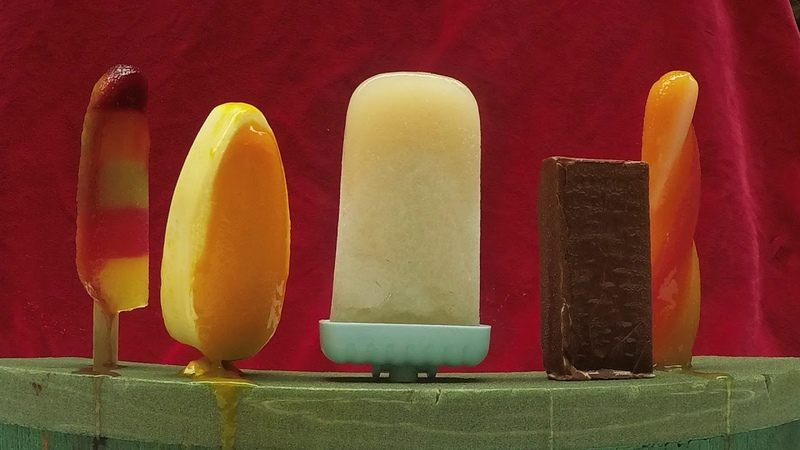 Bompas Parr creates worlds first non-melting ice lolly