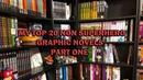 My TOP 20 Non Superhero graphic novels part 1