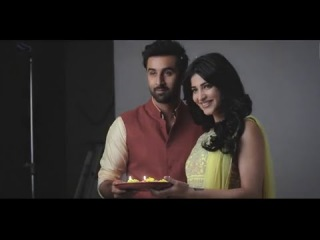 Ranbir Kapoor & Shruti Haasan AD Shoot Making