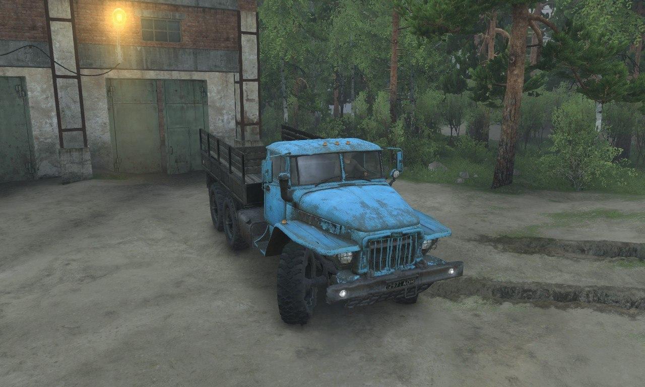 Урал-375 для 03.03.16 для Spintires - Скриншот 1