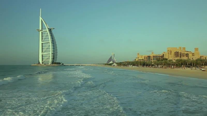 Бурж Аль Араб отель в Дубай Burj Al Arab Hotel in Dubai