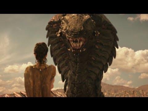 Rắn Ma Khổng Lồ tấn công - Phim Những vị thần Hy Lạp