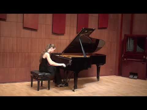 Елизавета Ключерева 17 лет Ш-В Алькан Этюд op.39-12 ми минор Пир Эзопа, из 12 этюдов во всех минорных тональностях