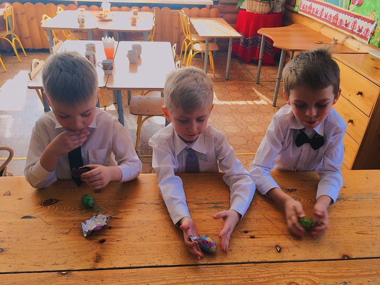 Пасхальный праздник в детском саду №56