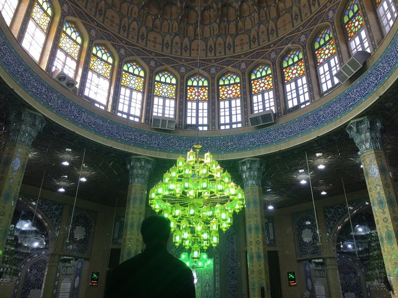 Мечеть Jamkaran. Путешествие в Иран