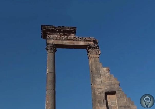 Древний чёрный город Босра  наследие величественного Набатейского царства