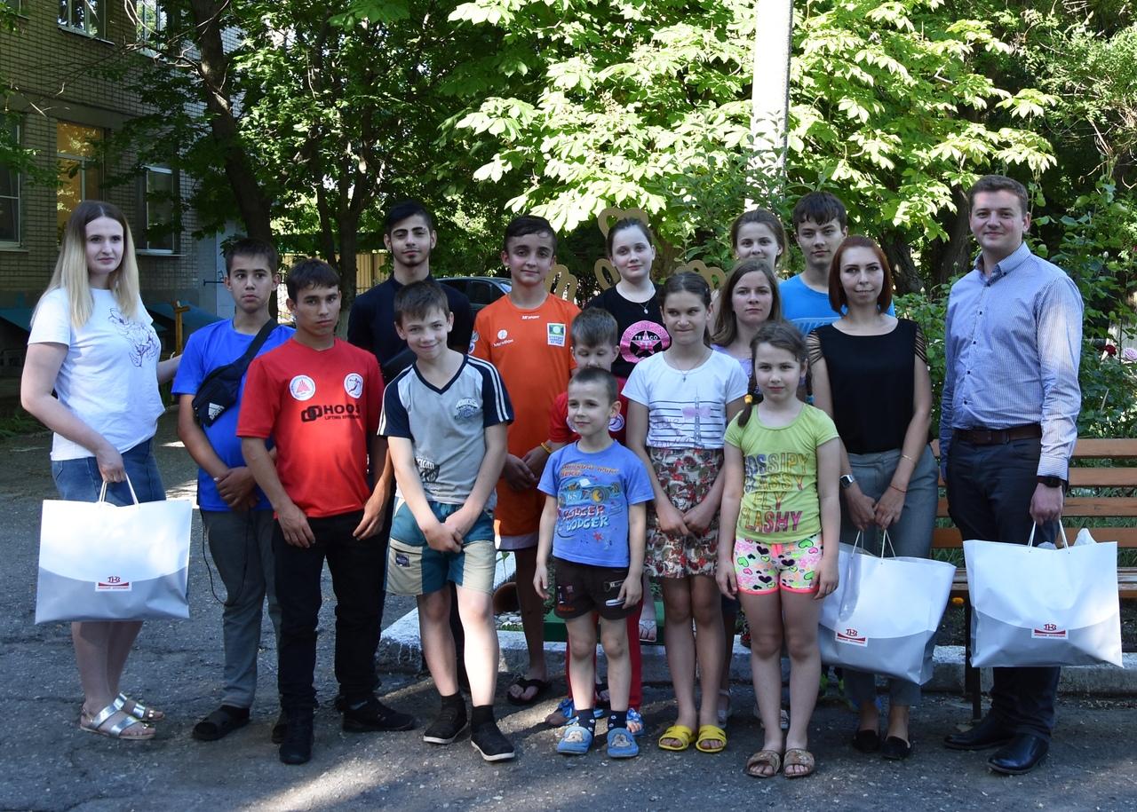 «Красный котельщик» поздравил юных таганрожцев с Международным днем защиты детей