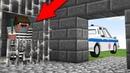 Преступник ограбил тюрьму в Майнкрафт Копы и преступники побег из тюрьмы Нуб minecraft троллинг