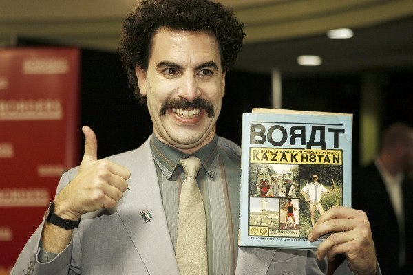 Борат і гімн Казахстану