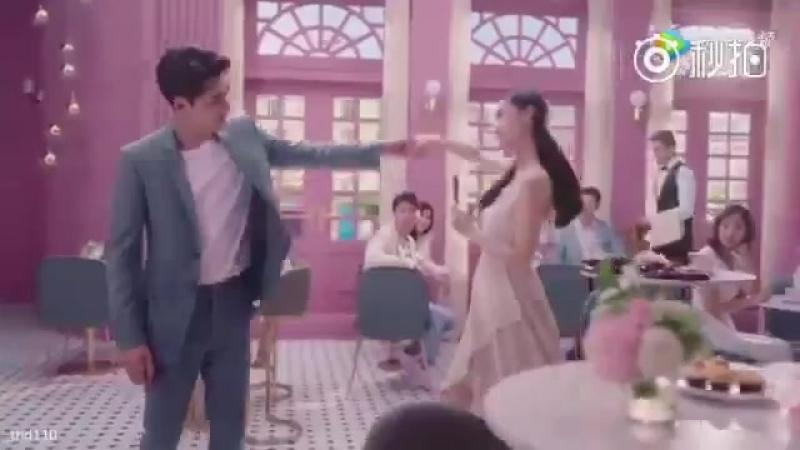 Angelababy and Li Yifeng for a new Dove Chocolate advert - - 杨颖 李易峰 angelababy yangying liyifeng