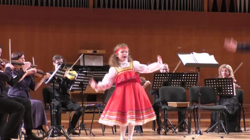 Елизавета Романенкова и камерный оркестр Игоря Лермана