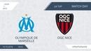 Olympique de Marseille 1 8 OGC Nice 24 тур Фр