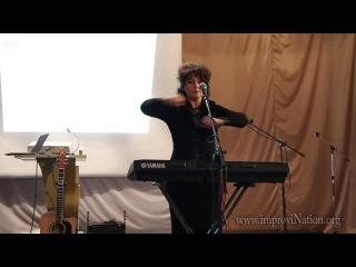 I-ый всеукраинский семинар по вокалу - часть 2 - Дыхательная гимнастика Стрельниковой