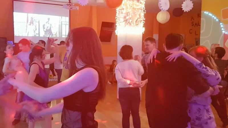 Субботняя домашняя вечеринка ы Art Salsa Club 23.03.2019