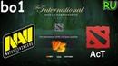 NaVi vs AcT | BO1 | The International 2018 | RU | CIS Open Quals Round 3
