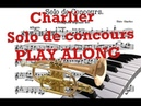 ♫♬Charlier Solo De Concours Backtrack Piano Play along Accompaniment