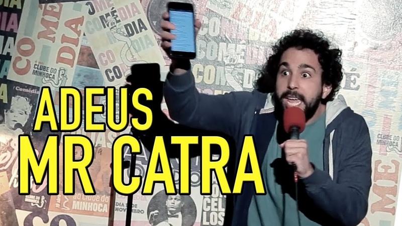 MURILO COUTO - ADEUS MR CATRA, ÍCONE DA CULTURA NACIONAL