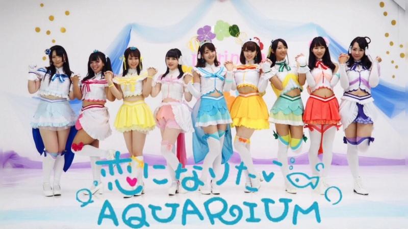 【marinatia♡】恋になりたいAQUARIUM【踊ってみた】 sm33812200