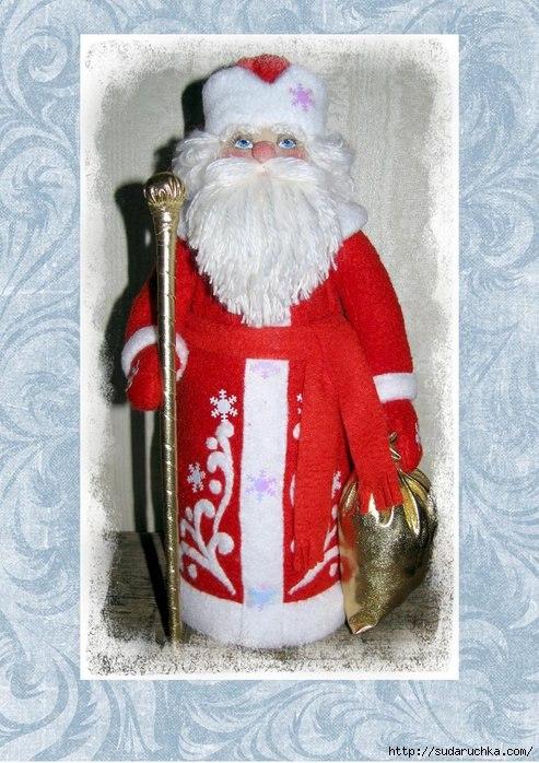 Дед Мороз- чехол для