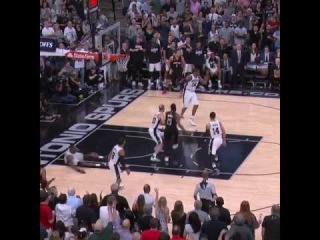 The top moments down the stretch that led to manu ginobili's block, and the spurs 3 2 lead!