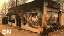 Camp Fire: Damage on the drive to Paradise on Highway 191 and Skyway