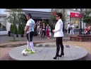 МАРАДОНА ТАНЦУЕТ В БРЕСТЕ! Maradona dances in Brest! Bailes de Maradona en Brest!