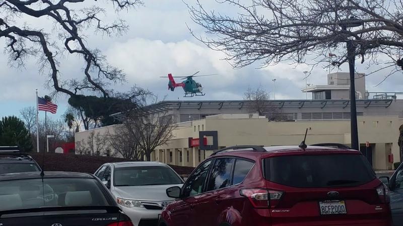 Вертолетом в больницу. Больничный комплекс Mercy.