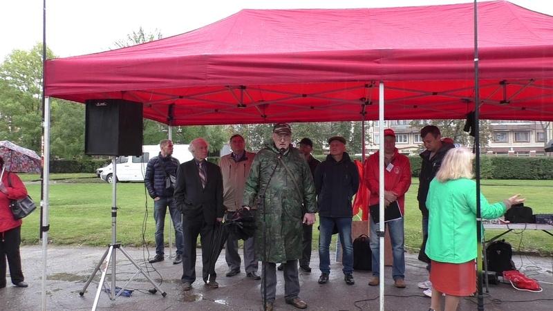 Митинг КПРФ в Пскове против пенсионной реформы 22 сентября 2018, полная версия