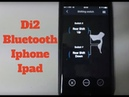 Dura Ace 9150 How to Connect your Di2 Bike to an Iphone by Bluetooth with EW-WU101 and 111