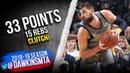Jonas Valanciunas Full Highlights 2019.03.20 vs Rockets - 33 Pts, 15 Rebs, CLUTCH! | FreeDawkins